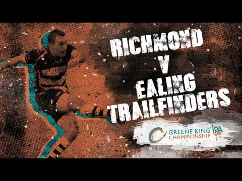 LIVE: Richmond v Ealing Trailfinders, Greene King IPA Championship