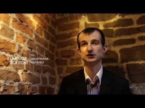 Korzyści z funduszy sołeckich - Krzysztof Jakubowski