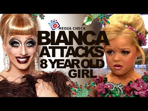 Bianca del Rio at a child beauty pageant