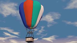 3D анимация воздушного шара - SEO (3D project aero ballon cinema 4D animation)(, 2017-12-17T20:31:38.000Z)