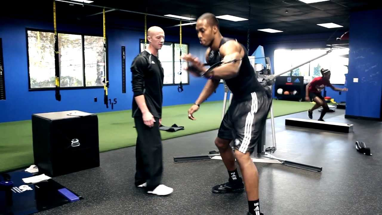 Dwight Howard's Strength, Speed and Power Workout - YouTube