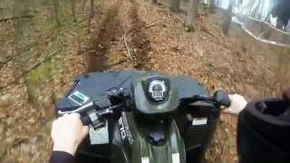 SPORTSMAN 570 w/o EPS Hill Climbs - Drifting - Deep Water
