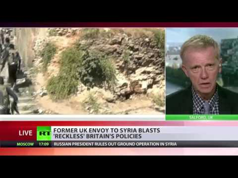 'Govt supporting some Jihadis in Syria' - Peter Ford ex amb