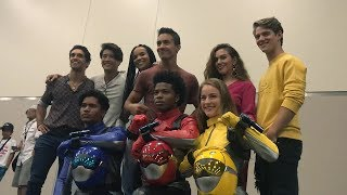 Power Rangers Beast Morphers Cast Reveal - Power Morphicon 2018