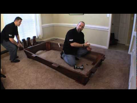 Charmant Legacy Pool Table Assembly Part 1