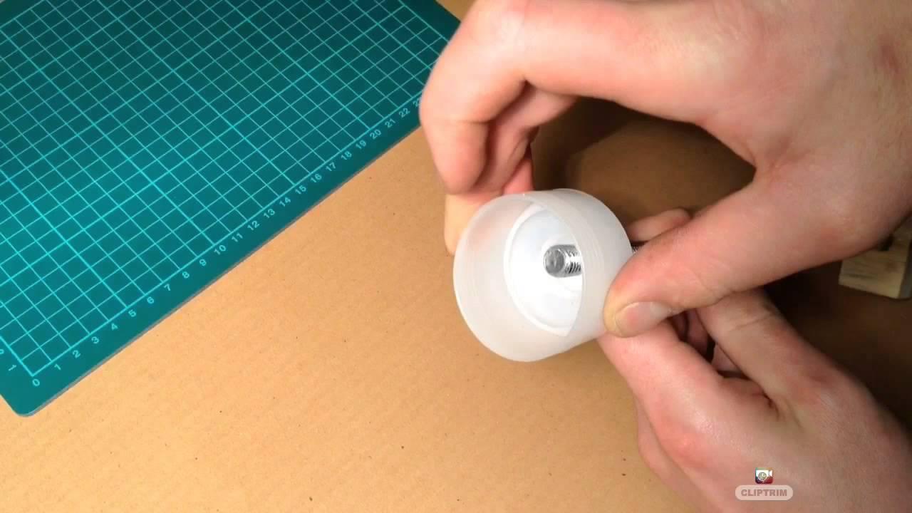 Jak zrobić dużą strzykawkę z tuby po silikonie