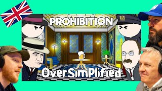 OverSimplified - Prohibition *ON THE BEER* REACTION!! | OFFICE BLOKES REACT!!