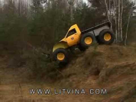 Вездеход Литвина.All-terrain vehicle LITVINA