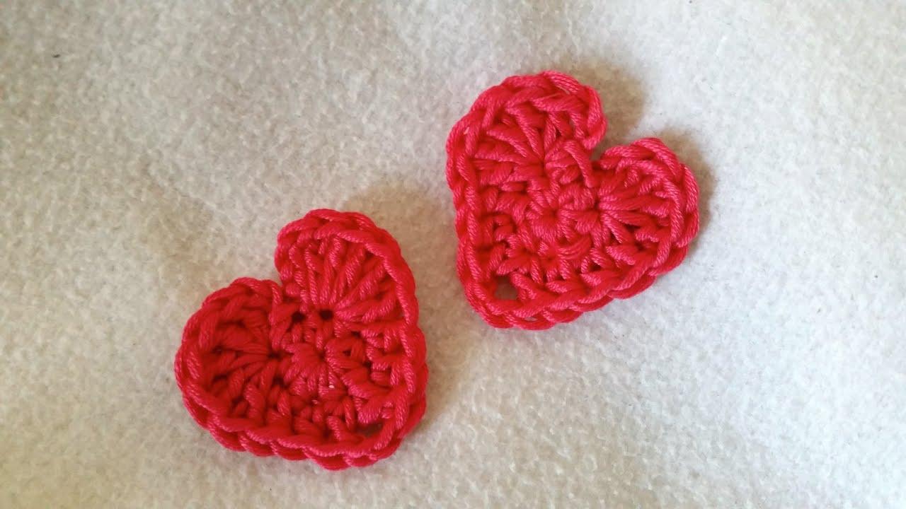 Einfaches Herz Häkeln Häkelanleitung Herz Für Anfänger By