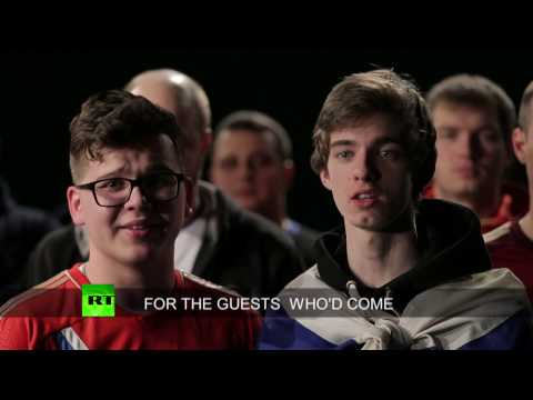 'Dare, dare, don't be scared': Russian chant for British football fans