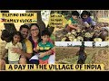 A DAY IN THE VILLAGE OF INDIA | EATING ICE APPLE (MUNJULU/TADGOLA) |  Filipino Indian Family Vlog#81