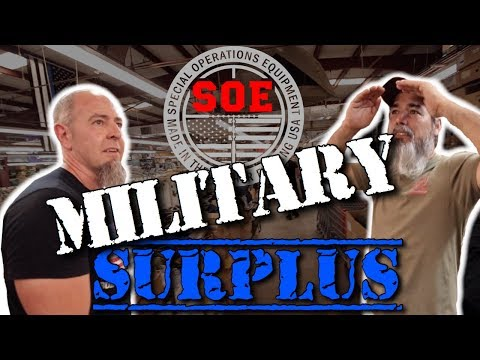 GIANT MILITARY SURPLUS!
