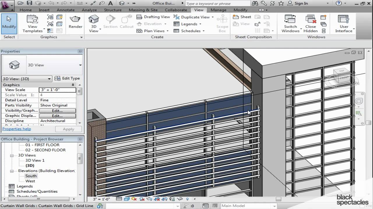 Revit Elevation Key Plan : Revit tutorial navigating plan elevation and section