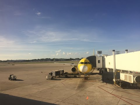 Spirit Airlines 60fps: Airbus A321-200 on Flight NK525 (EWR-FLL)