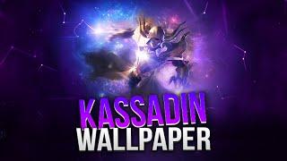 Wallpaper | Cosmic Reaver Kassadin | Photoshop | Speed Art | League of Legends