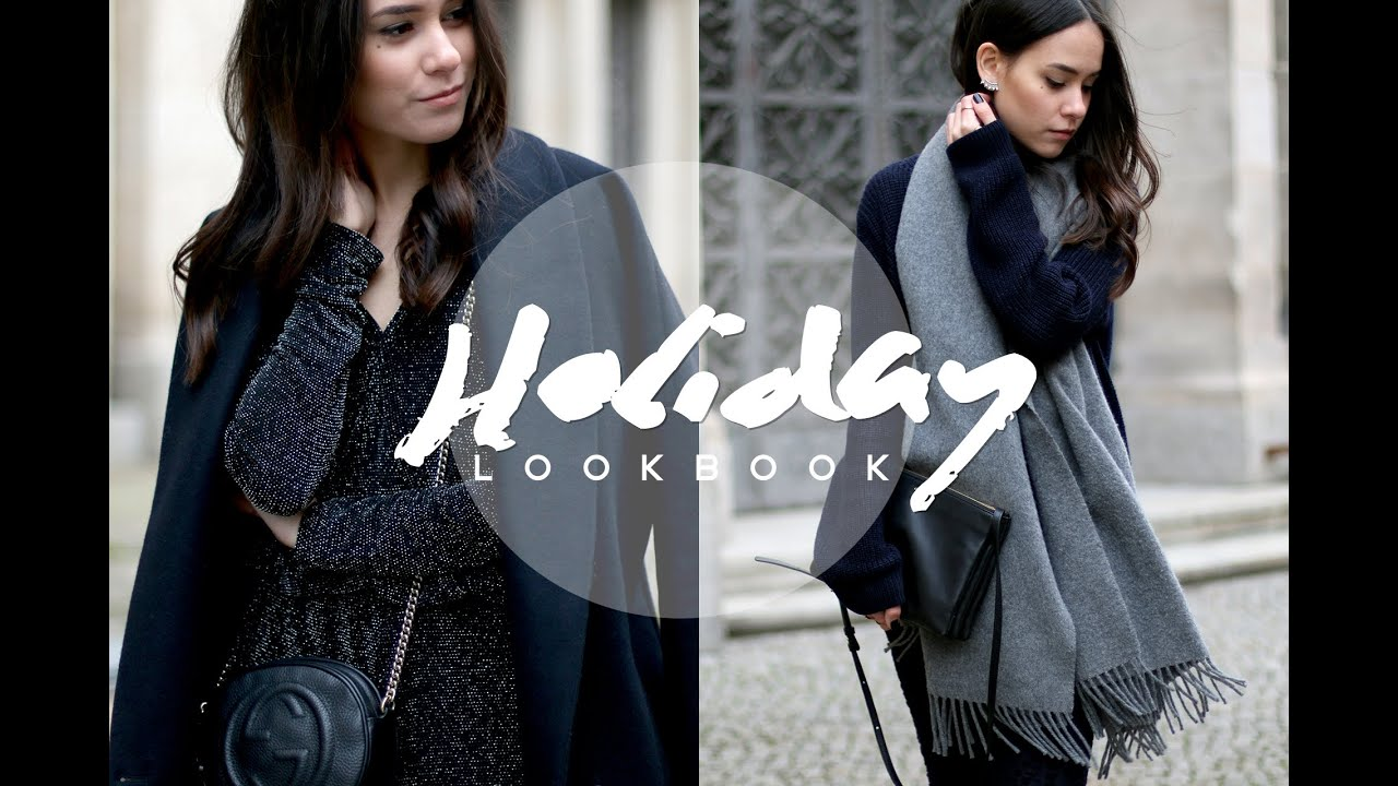 holiday lookbook outfits f r weihnachten silvester und. Black Bedroom Furniture Sets. Home Design Ideas