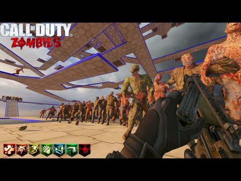 OCTOGONAL ASCENSION V2 CUSTOM ZOMBIES MAPA IMPOSIBLE | BLACK OPS 3 ZOMBIES MOD TOOLS