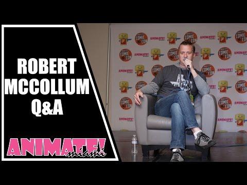 Rob McCollum Q&A at Animate Miami 2015