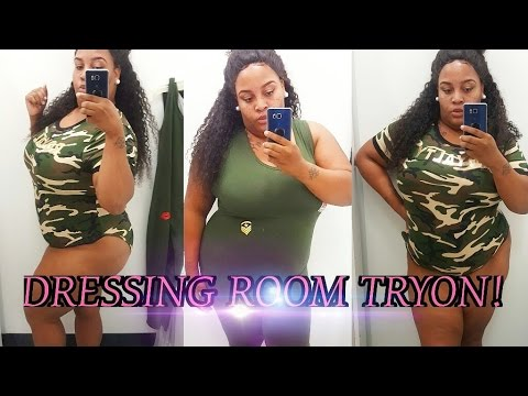 DRESSING ROOM TRYON CLOTHING || PLUS SIZE TRYON || CITITRENDS || PLUS SIZE FASHION FOR THE SPRING