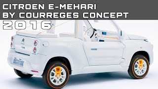Citroen e-Mehari by Courreges Concept 2016 Videos