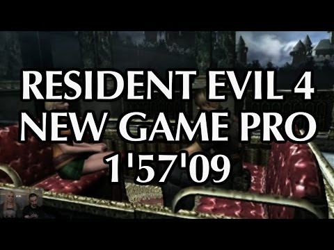 Resident Evil 4 New Game Pro (SINGLE SEGMENT SPEEDRUN 1'57'09) - Player : A-M -