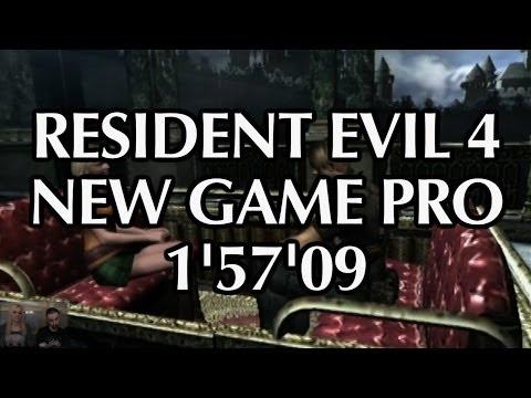 Resident Evil 4 New Game Pro (SINGLE SEGMENT SPEEDRUN 1'57'09) - Player : A-M -