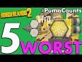 Top 5 Worst Shields in Borderlands 2 PumaCounts