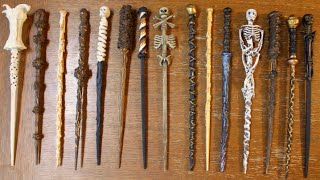 How To Make Harry Potter Wands! DIY Witch and Wizard Magic Wands!