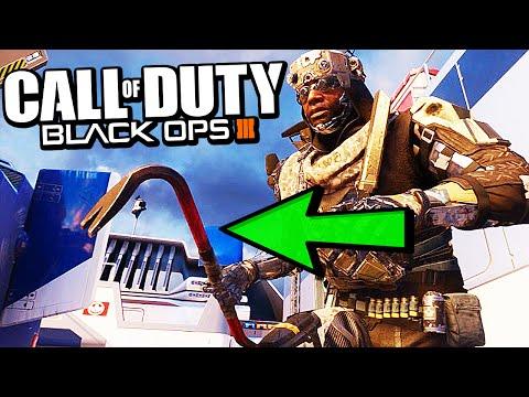 Black Ops 3 - IRON JIM CROWBAR GAMEPLAY! - BO3 Melee Weapon DLC (Call of Duty)