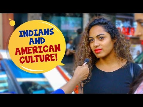 Why Are Indians Obsessed With American Culture? | Indian Girls On American Culture | Wassup India