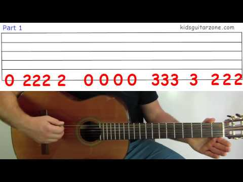 Guitar Lesson 4I: The James Bond Theme