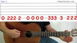 Guitar Lesson 4I: The James Bond Theme