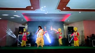 Punjabi solo dance   lak twenty eight & high heels   friends dj nakodar