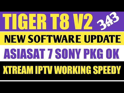 Tiger T8 High Class V2 New Software With New Features