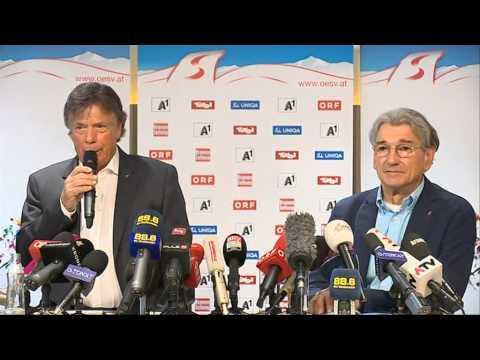 ÖSV-Pressekonferenz zur Causa Fenninger