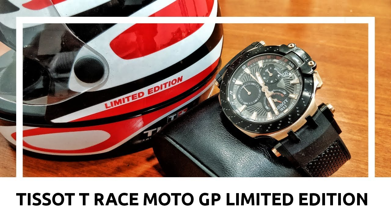 3395c12f1b7 Tissot T Race Moto GP 2018 limited edition watch review - YouTube