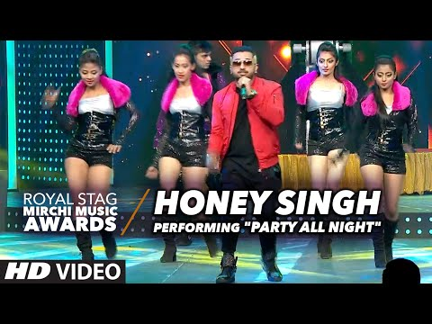 Honey Singh Performing