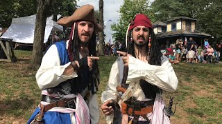 Playing Count the Jack Sparrows at the PA Ren Faire | Pyrate Invasion Weekend 2018
