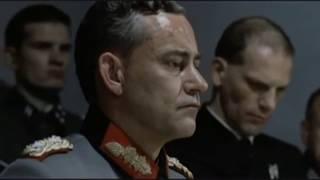 Знаменитый фрагмент из фильма Бункер. Настоящий перевод с русскими субтитрами