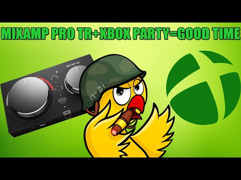 How To Use Astro Mic W/ Astro Mixamp Pro TR In Xbox Party Chat(EASY!)