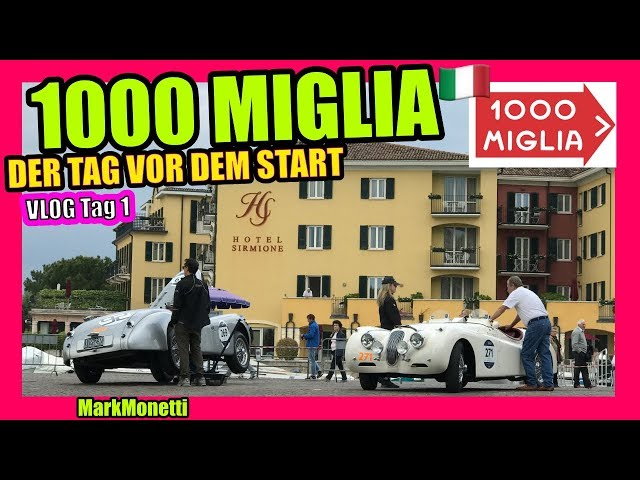 1000 Miglia | Vor dem Start in Brescia | Vlog Tag 1| MarkMonetti