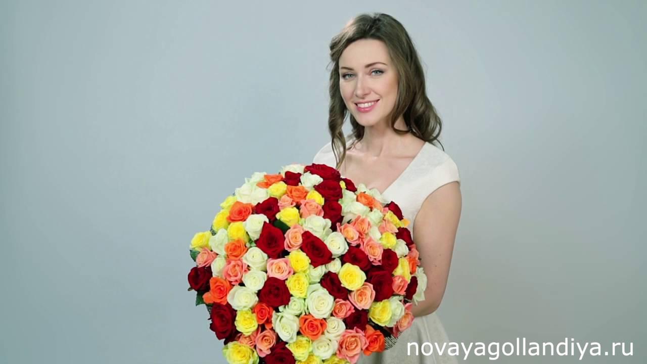 В нашем интернет-магазине вы можете купить букет цветов из 101 розы ( 70см) с доставкой по москве, цены от flor2u. Огромный выбор цветов на любой вкус.