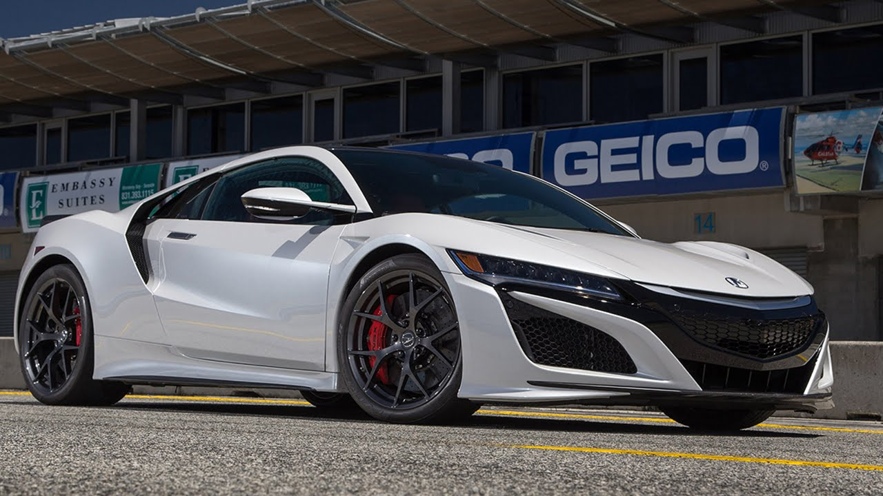2017 Acura NSX Hot Lap 2016 Best Drivers Car Contender