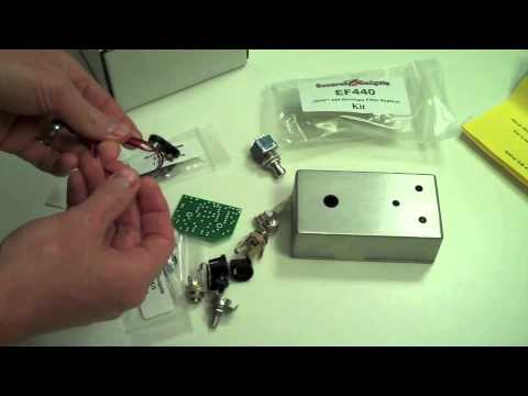 How to Make A Guitar Effects Pedal - Unboxing and Building the DOD 440 Replica Kit