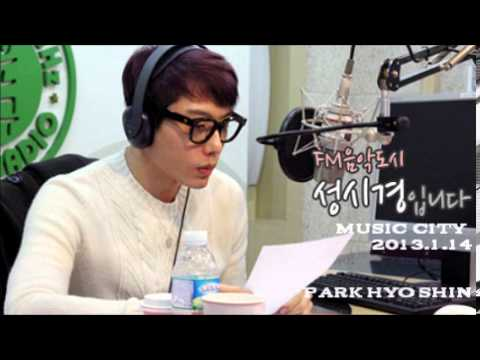 Park Hyo Shin 130114  Music City