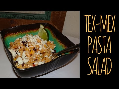 TEX MEX PASTA SALAD | RECIPE | VEGAN