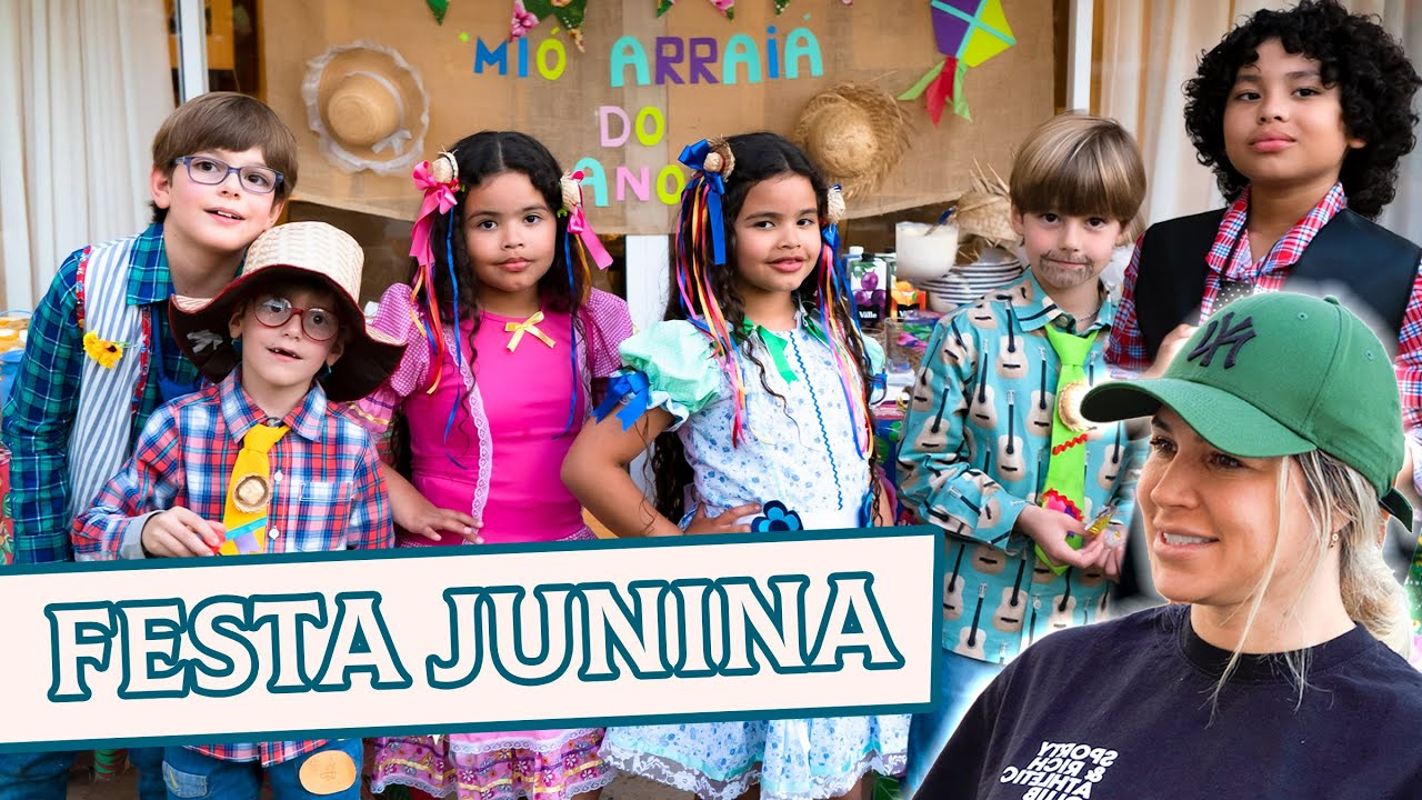 FIZEMOS UMA FESTA JUNINA EM CASA | DANI SOUZA