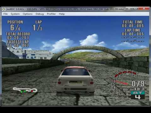 sega dreamcast emulator games