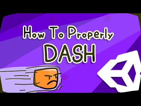HOW TO PROPERLY DASH IN UNITY (HTP) |