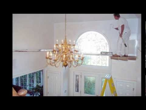 Benson two story youtube for 2 story foyer conversion